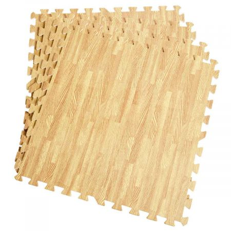 EVA morbida schiuma ad incastro 60x60cm Tappeto da fitness antiscivolo per pavimento 12 pezzi