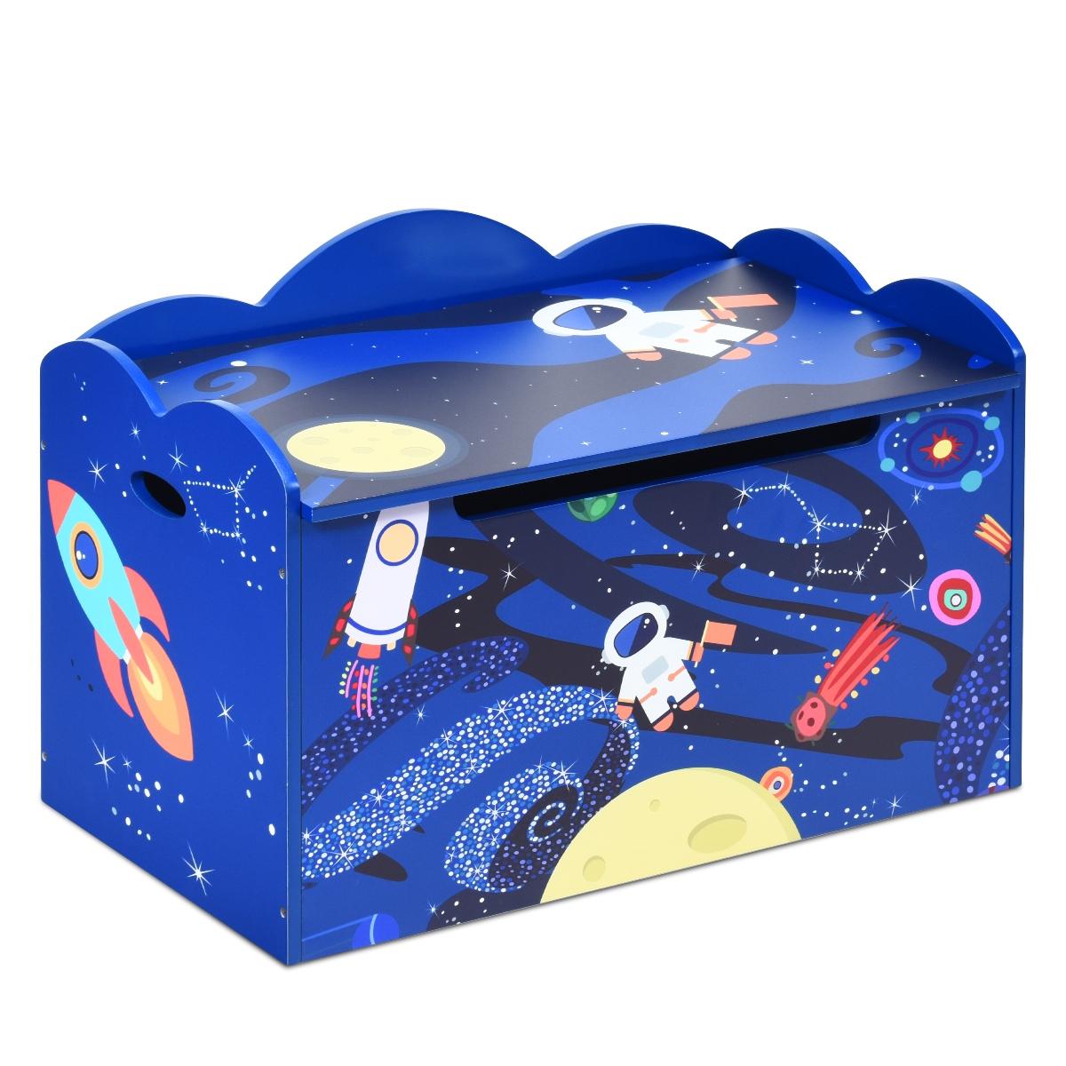 Portagiochi Bambini con Scompartimento /& Coperchio Rimovibile /& Maniglia 75x34x41cm Vestiti king do way Scatola di Giocattoli Pieghevole Libri Contenitore per Giocattoli Bambini