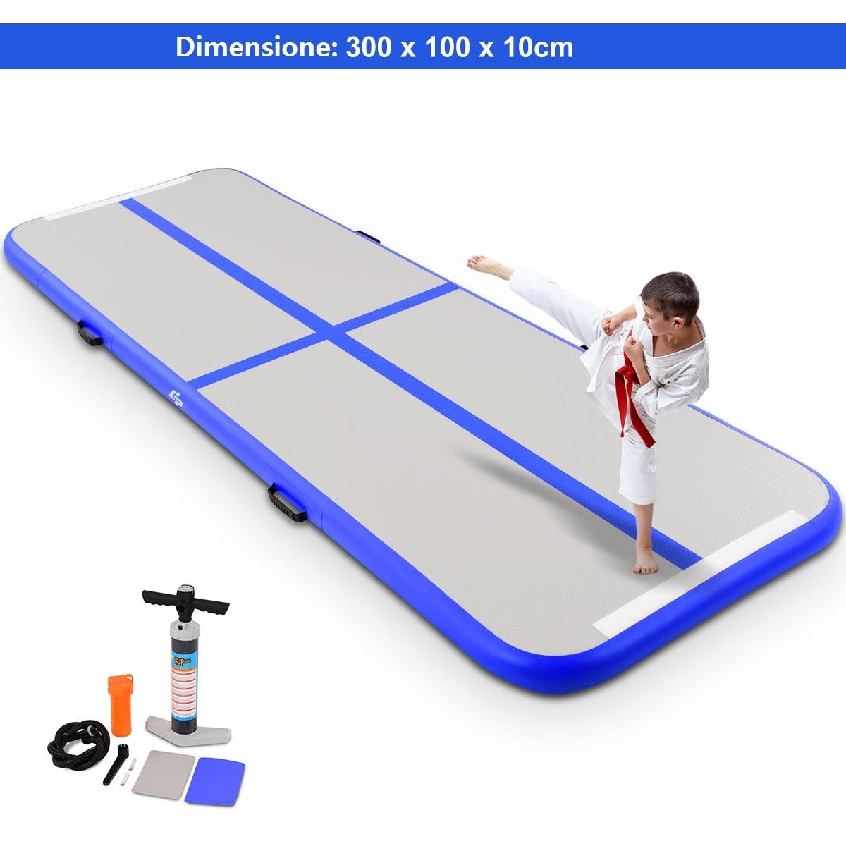 3M*1M Gonfiabile Air Track yoga Formazione Tumbling Pavimento Ginnastica Corsa